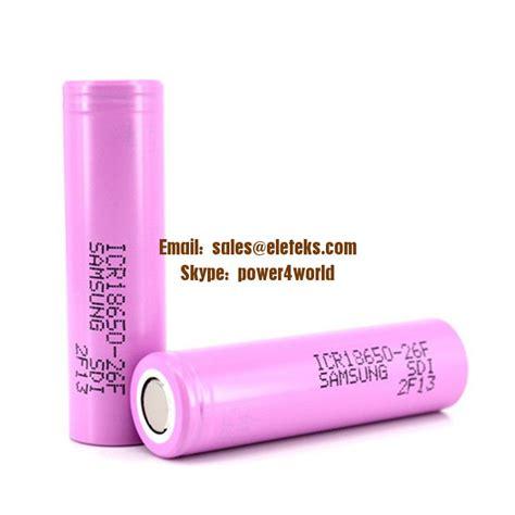 Baterai Lg He4 2500mah Original 18650 Not Samsung Awt Sony Vtc Lg Hg2 original samsung icr18650 26f 3 7v samsung 18650 2600mah rechargeable li ion battery cells