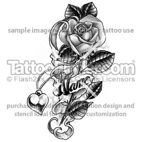 rose tattoo with a name tattoos with names tattoofinder and name
