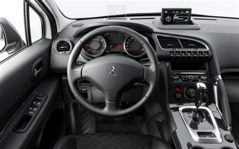 peugeot 3008 2016 interior image gallery peugeot 3008 review 2016
