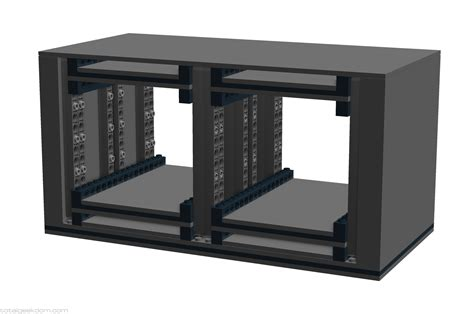 Rack For External Drives by Lego Server Systems Total Geekdom