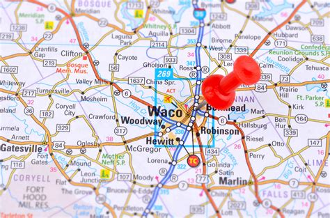 map of waco texas area waco real estate and market trends