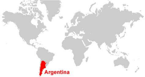 where is argentina on the world map argentina map and satellite image