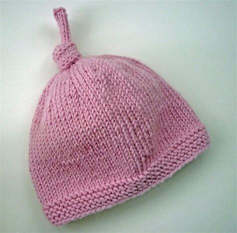 knit baby hats baby hat with top knot tegan by julie craftsy