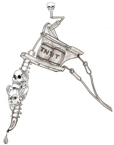tattoo machine does not work tnt tattoo machine by mrchilly on deviantart