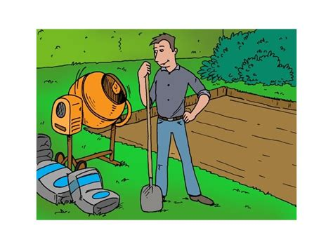 fundering gieten tuinhuis betonnen dek gieten voor tuinhuis fundering livios