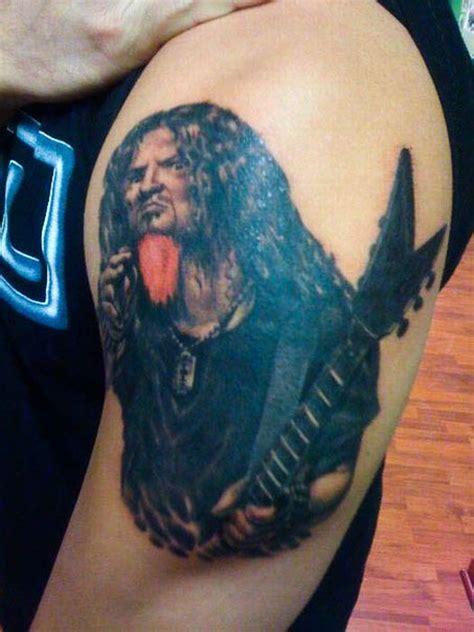 dimebag darrell tattoos dimebag darrell tribute tattoos page 5