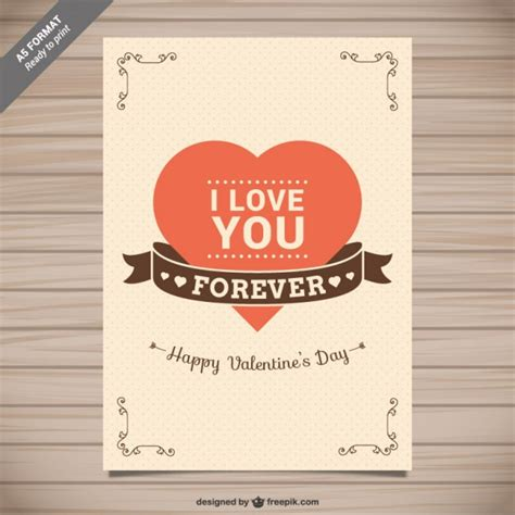 imágenes de i love you forever i love you forever card vector free download