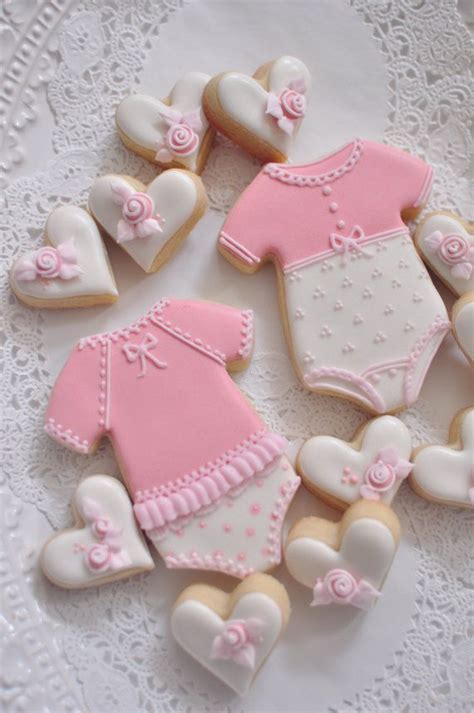 Baby Shower Cookie Ideas by Best 25 Onesie Cookies Ideas On Cookies For