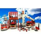 Massive Collection Playmobil Fire Rescue Toys