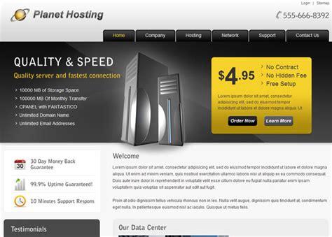 Web Hosting Templates Hosting Template