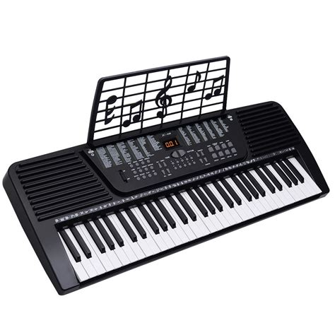 Keyboard Organ Techno new 61 key digital electronic keyboard electric piano organ black ebay
