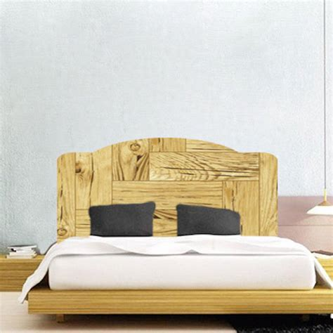 Headboard Mural by Wooden Headboard Mural Decal Headboard Wall Decal Murals