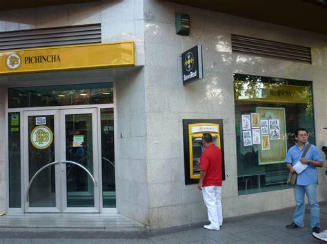 banco pichincha madrid el kalabazas 708 bancos bancos y m 225 s bancos