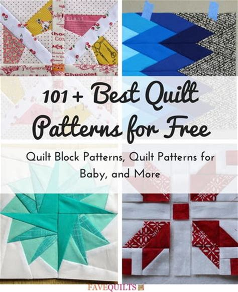 Best Baby Quilt Patterns by 101 Best Quilt Patterns For Free Quilt Block Patterns