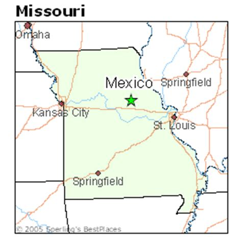 best places to live in mexico, missouri