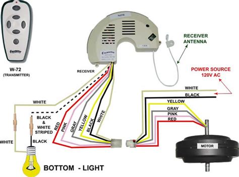 casablanca fans with light wiring diagram electrical