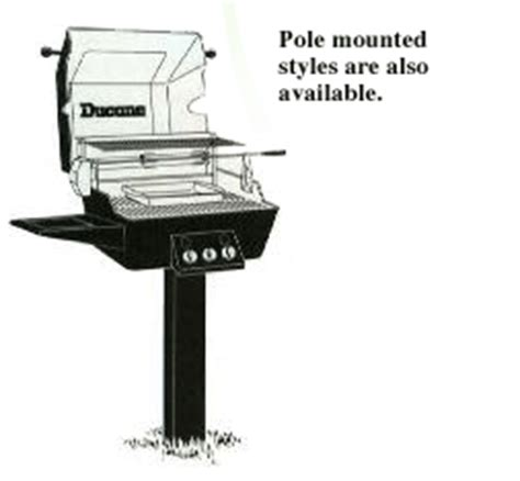 Poêle Grill by Pole Mounted Bbq Grills Bbq Grills