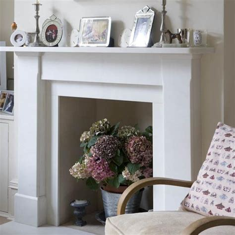 Disused Fireplace Ideas living room detail real homes cottage