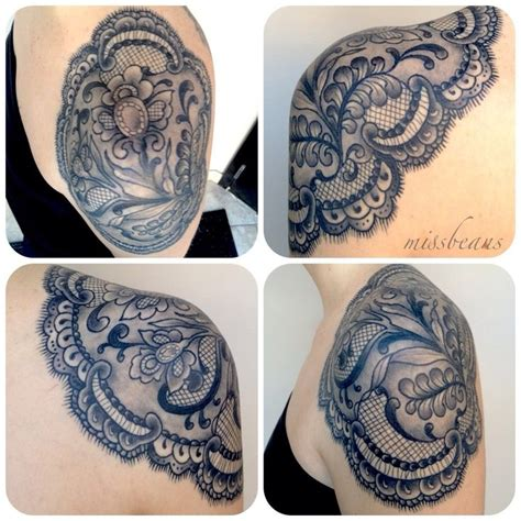 lace shoulder tattoo the world s catalog of ideas