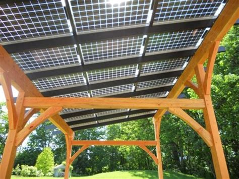 patio solar panels solar panel timber frame patio cover homespirations outdoors