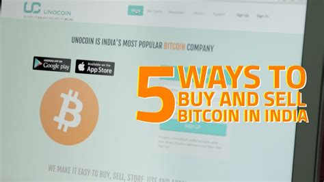 Buy Bitcoin Australia 5 by 5 Places To Buy And Sell Bitcoins In India
