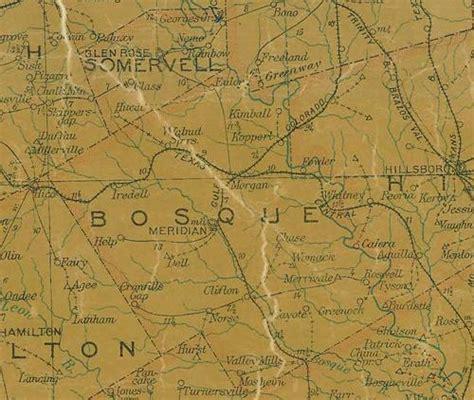 bosque county texas map steiner texas aka fowler texas