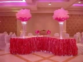 Tulle Table Skirt Diy Victoria S Secret Themed Sweetheart Table Linens In