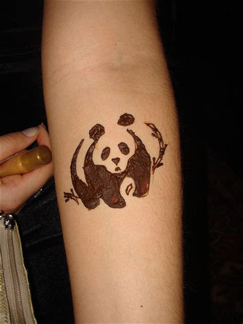 panda chest tattoo girl crazy tattoo face panda tattoo girl