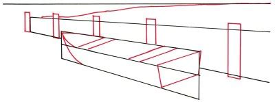 how to draw a rowboat how to draw a rowboat at a seawall howstuffworks
