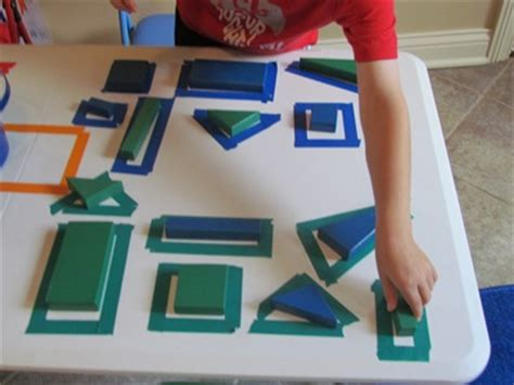table top activities for exploring our shapes with blocks on the table top teach