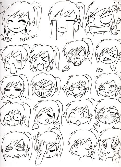 Drawing Expressions by 171 Best Images About Chibi Tutorials On Chibi
