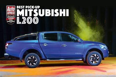 mitsubishi pickup 2016 pick up of the year 2016 pictures auto express