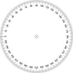 Circular Protractor Template by Circular Protractor Printable Clipart Best