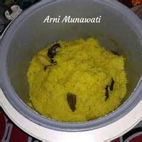 resep nasi kuning rice cooker  empal gepuk oleh
