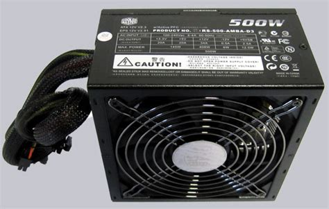 Power Supply 500w Okaya Psu 500 Watt 500 W 1 cooler master silent pro m500 500w modular psu review