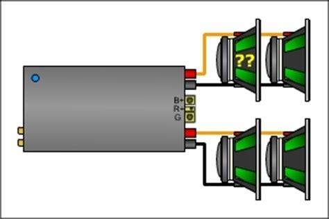 resistors in series with speakers series parallel speaker impedance