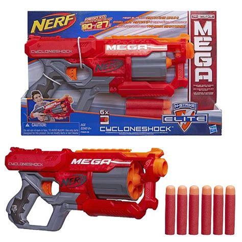 Nerf Bigshock Hasbro nerf n strike elite mega cycloneshock blaster hasbro nerf at entertainment earth