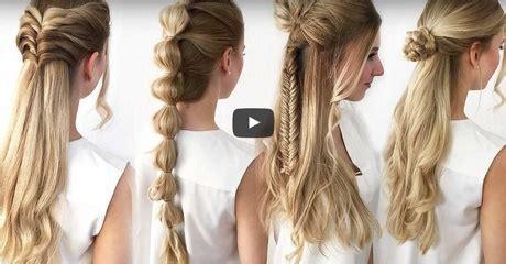 halboffene frisuren halboffene festliche frisuren