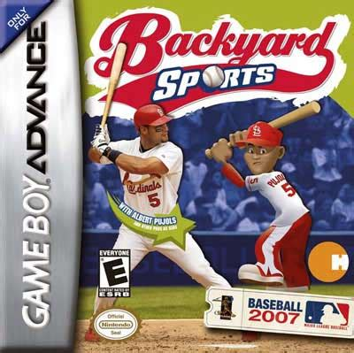 backyard baseball 2007 nintendo boy advance