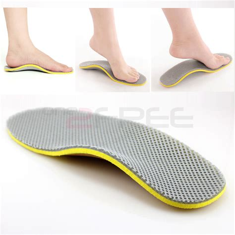 new 1pair orthotic arch support shoe insoles pads relief all size free ship ebay