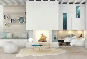 un salon sur mesure meuble salon appartement agence