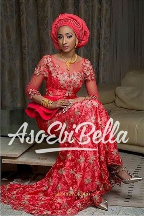 Labella Pink Top Dress 2018 aso ebi styles 18 lace and asoebi designs