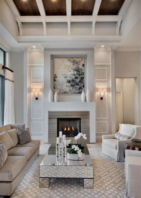 20 Lovely Living Rooms With Fireplaces | 20 lovely living rooms with fireplaces