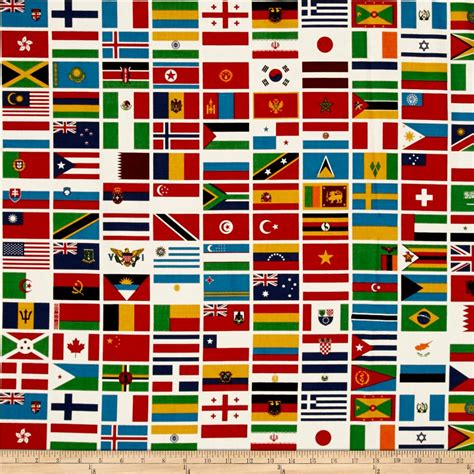 flags of the world quilt riley blake our world flag white discount designer