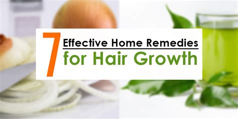 7 effective home remedies for boosting hair growth using
