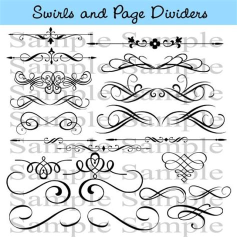 Clipart Wedding Embellishments by Wedding Embellishments Clipart 53