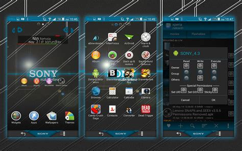 theme walkman apk install custom xperia sony theme on rooted xperia device