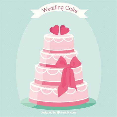 Wedding Cake Vector by Pink Wedding Cake Vector Premium