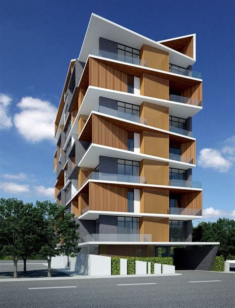 apartment design architecture service apartment sayar san road yangon myanmar by