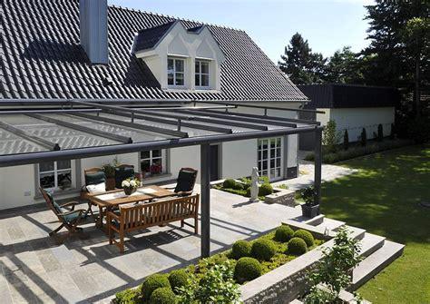 terrasse mit überdachung muschelkalk terrasse mit glas 252 berdachung terrassendach